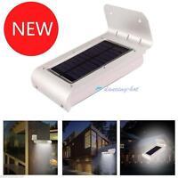 2017 Waterproof 16LED Solar Power Motion Sensor Security Outdoors Garden Lamp K^