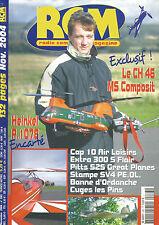 RCM N°283 PLAN : HEINKEL P.1078 / CH 46 MS / CAP 10 AIR / PITTS S25 / STAMPE SV4
