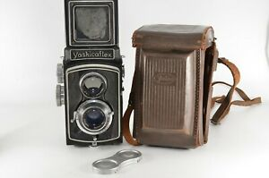Yashica flex TLR Camera 80mm F/3.5 Lens From JAPAN #1486