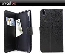 avadoo® Medion Life S5504 Flip Case Schutz Tasche Magnet Schwarz