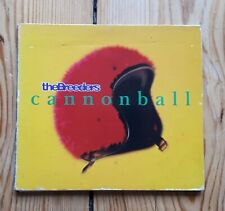 The Breeders Cannonball CD EP Pixies 4AD
