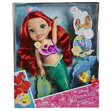 Disney Princess Colours Of The Sea Ariel Toddler Doll * Brand New *