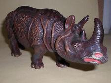 vintage Lineol Elastolin rhinoceros rhino animal figure