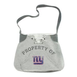 New York NY Giants Hoodie Sweatshirt Material Sling Purse Handbag