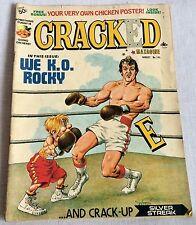 Aug 1977 Cracked Magazine No 143 Satire Humor Comics Rocky Silver Streak