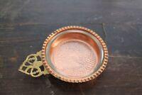 Coppercraft Guild Porringer Bowl with Glass Dish