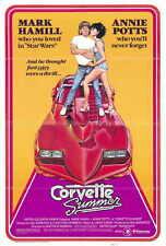 CORVETTE SUMMER Movie POSTER 27x40 Mark Hamill Annie Potts Eugene Roche Kim