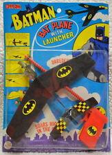 Official BATMAN BAT PLANE w LAUNCHER 1975 AHI RARE MOC UNOPENED High Grade