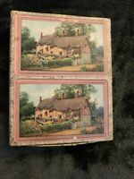 Vintage Cottage House Playing Cards