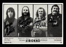 Sirokko Autogrammkarte Original Signiert ## BC G 19155