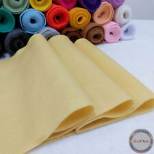 Soft Felt Fabric Metre 1.4mm Thick Non Woven Wool Christmas DIY Craft Material