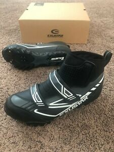 Exustar E-SM343 Winter Cycling Shoes — Size 9.5