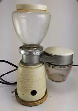 Macina Caffè Macinino Quick Mill Vintage bianco funzionante