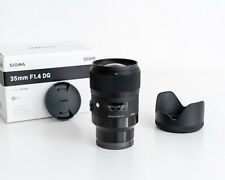SIGMA ART 35mm F 1.4 Sony e-mount DG HSM