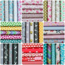 100% Cotton Fabric Bundles Assorted Charm Patchwork Craft Mixed Summer 2018