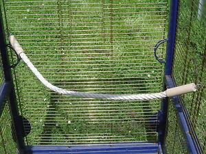 pipano Sitzseil 20 - 300 cm Sisal 12 mm, Wellensittich, Nymphensittich, PSH2212