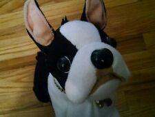 Fuzzy Nation Dog purse plush stuffed animal doggy puppy terrier handbag