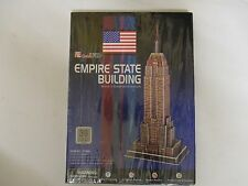 Empire State Building 9 Piece 3D Puzzle, New Sealed and Unopened.