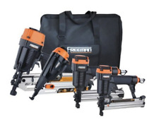 Pneumatic Tools Combo 4 Piece Tool Set Air Powered Framing Nail Gun Finishing