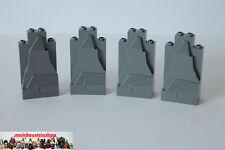Lego 4X Felsen Stein Panel Rock Dunkelgrau 47847, 54782 NEUWARE