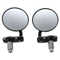 HU 2 Moto Bar End Mirror pour Ducati Suzuki Kawasaki