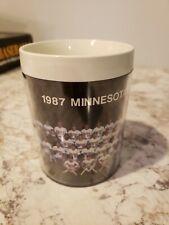 Gatorade 1987 Minnesota Twins Thermo-Serv Plastic Insulated Mug