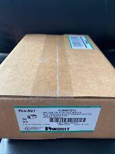 Panduit Giga-TX Cat6 jacks Yellow CJ688TGYL BOX OF 50. FAST FREE SHIPPING!