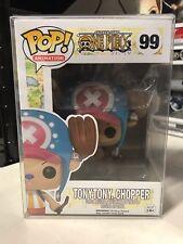 FUNKO POP TONYTONY CHOPPER ONE PIECE #99 ANIME w/ FREE PROTECTOR