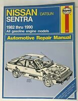 Haynes Nissan / Datsun Sentra 1982 thru 1990 Automotive Repair Manual #982