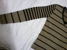"Maglia uomo strisce ""FDN menswear"" MADE in ITALY man stripes V-neck"