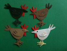 Farm Chickens Chicken Hens Hen Rare Breeds Grow Your Own Eggs Die Cuts