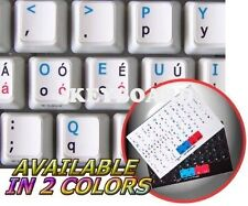 DVORAK UK NON-TRANSPARENT KEYBOARD STICKER WHITE