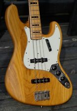 1973 Fender Jazz Bass rare 4-Bolt w/Ash Body