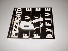 PIZZICATO FIVE - FIVE BY FIVE - DIGIPACK - MATADOR RECORDS - MADE IN U.S.A. 1994