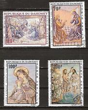 Dahomey # C89-92 Used Christmas 1968 Nativity Christ