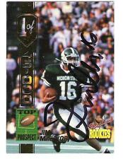 Jim Miller AUTOGRAPH MICHIGAN STATE FOOTBALL CARD SIGNED