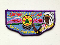 SIWINIS OA LODGE 252 FLAP 2015 LAAC PATCH LOS ANGELES AREA NOAC 1990 DELEGATE