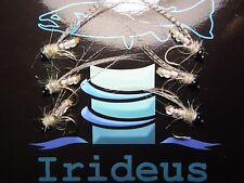 Irideus Morning Pearl Yuba River Caddis Custom Fly Fishing Flies Nymph Pupae