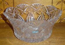 "JG Durand France Crystal Bowl - 9"""