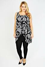 Unbranded Tunic Floral Plus Size Dresses for Women