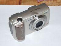 Canon PowerShot A20 2.0 MP Digitalkamera - METALLISCHES SILBER