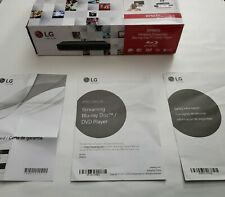 LG Electronics BPM35 Blu-ray Disc Player with Streaming Services Wifi Netflix