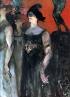 Messalina by Henri de Toulouse Lautrec Giclee Fine Art Print Repro on Canvas
