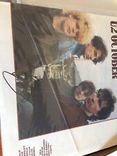 U2  Bono Signed Autograph Record Vinyl Album JSA October Nice