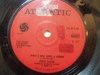"Percy Sledge – When A Man Loves A Woman 1966 7"" Atlantic 584001"