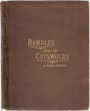 Rambles among the Cotswolds by Ernest Belcher 1st 1892 pub W.H.Smith Evesham