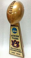 "AUBURN UNIVERSITY TIGERS  NCAA NATIONAL CHAMPION FOOTBALL TROPHY 10"""
