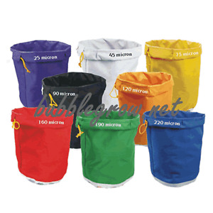 4 PIECES X 5 GALLON (20L) BUBBLE BAGS FILTRATION HERBAL ICE EXTRACTION KIT SET