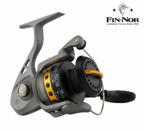 New Fin-Nor Lethal Fixed Spool Spinning Fishing Reel - All Sizes