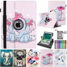 Case for iPad 7 6 5th 4 3 2 mini 5 4 3 2 Air 2 3 Pro 360° Leather Rotating Cover